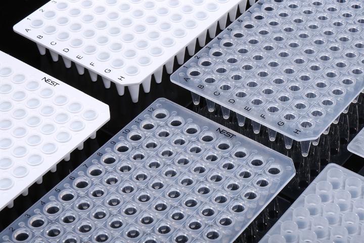 88必发_NEST 0.1mL PCR 96孔板 无裙边 402101