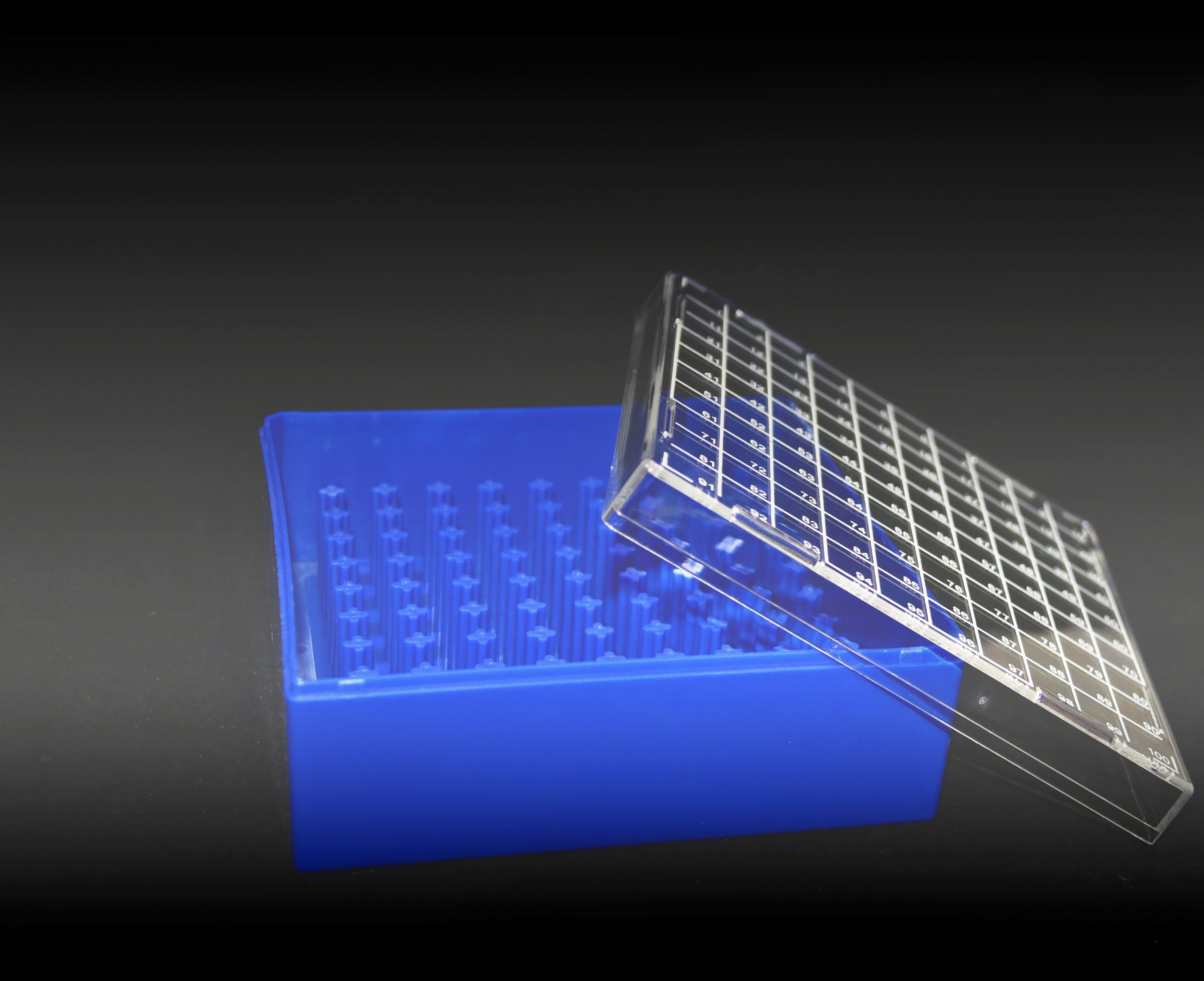 100格冻存盒(聚碳酸酯)