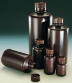 nalgene 2004-0001琥珀色窄口瓶 30ml 琥珀色高密度聚乙烯 nalgene代理商