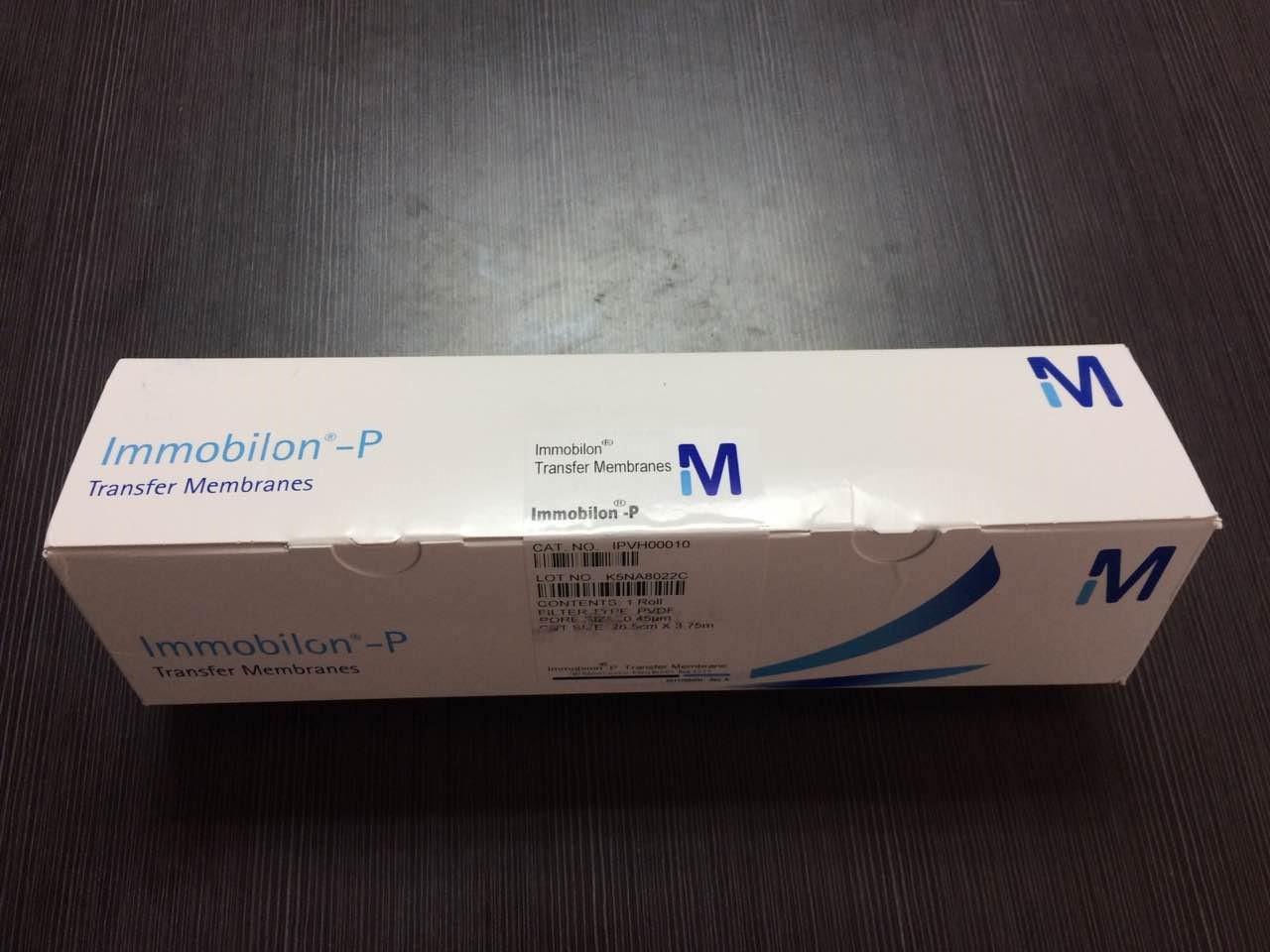 Millipore原装正品 PVDF膜0.45um