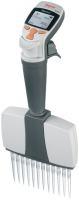 Finnpipette Novus 5-50 µl 16道电动移液器, 含通用型插头充电器, CE 认证 46300700