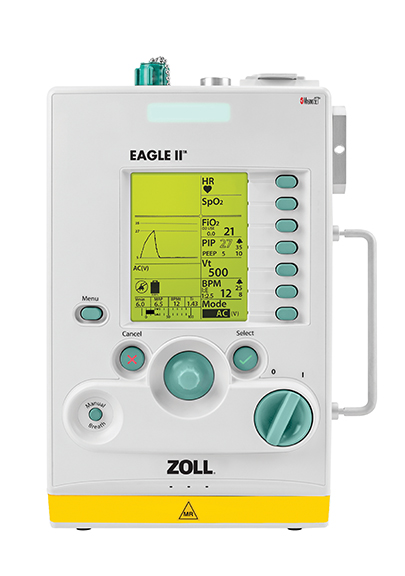 美国ZOLL便携式呼吸机Eagle II MRI