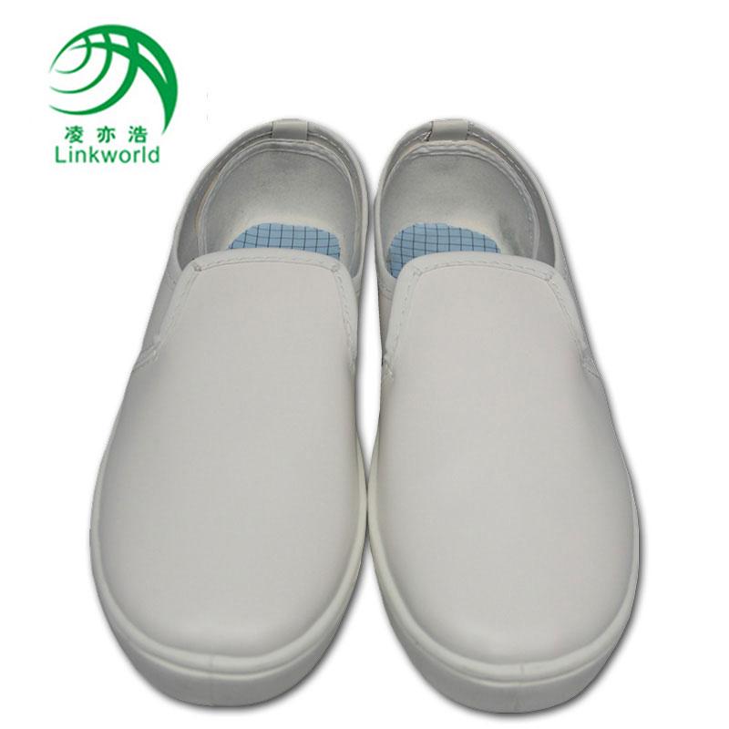 深圳凌亦浩防静电厂家供应防静电PVC低帮中巾工作鞋