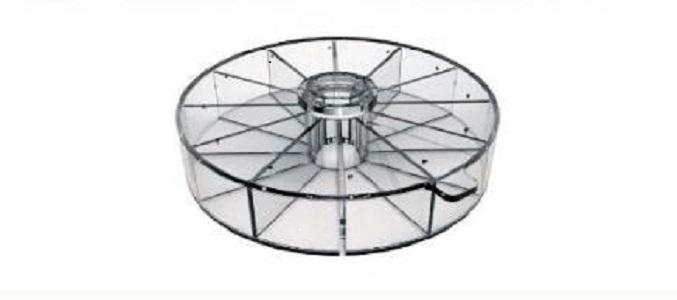 高通量分隔式全身辐照鼠笼 局部辐照模块 遮铅板