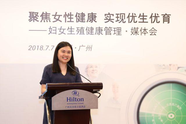 罗氏诊断中国专业和分子诊断部临床价值市场总监郑佩珊女士.jpg