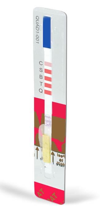 Charm QUAD3链霉素、大观霉素、卡那霉素和新霉素四合一快速检测条