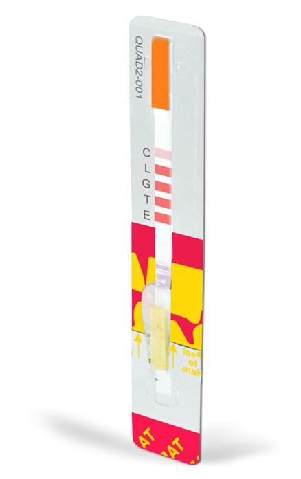 Charm QUAD2-G林可霉素、红霉素、泰乐菌素和庆大霉素四合一快速检测条