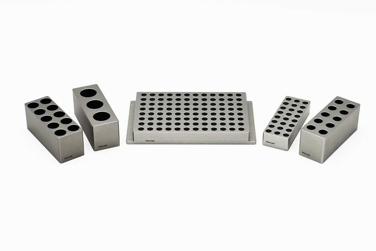 0.5 ml (10-well) Metal Block
