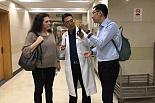 欧洲营养学专家PAULA RACASCO教授来院交流访问