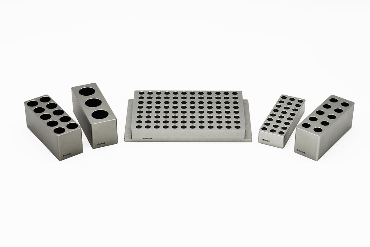 5 ml (3-well) Metal Block