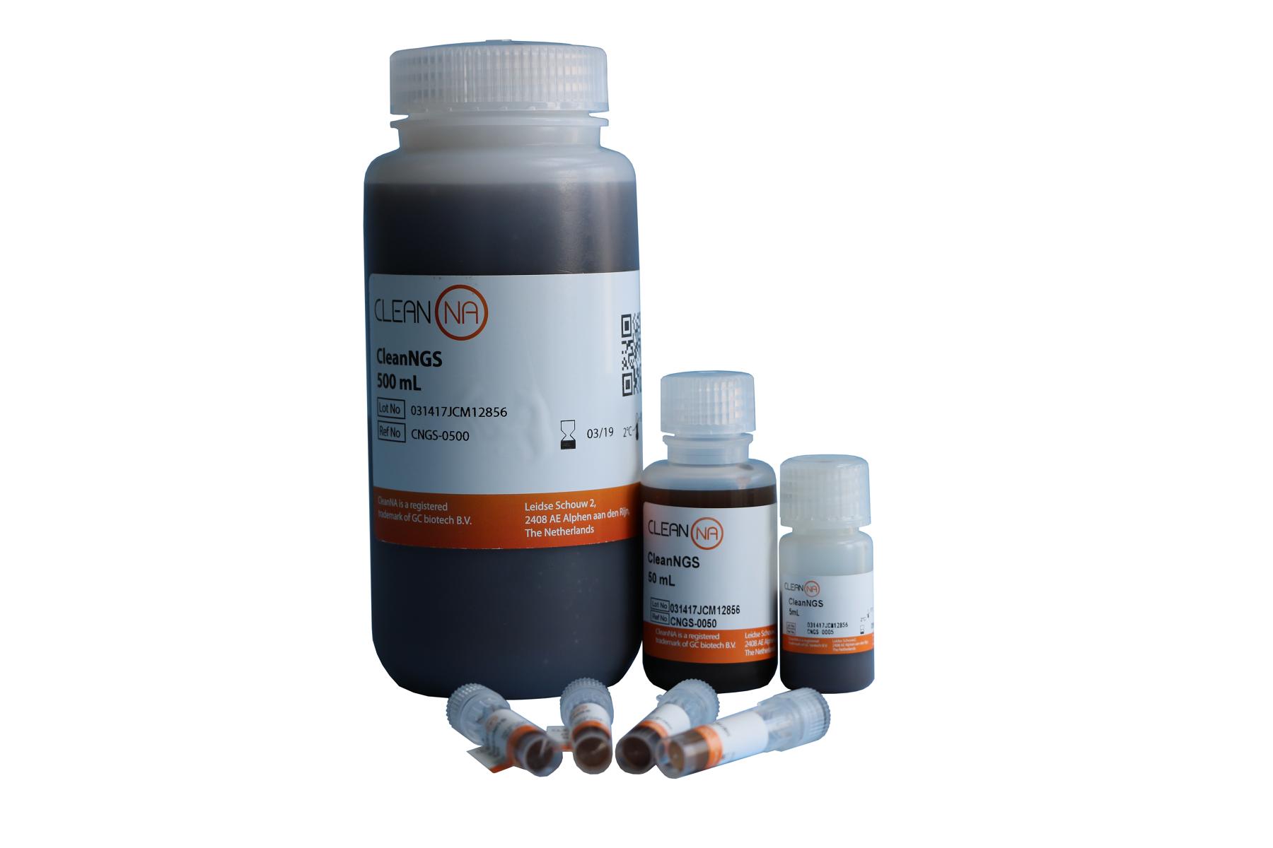 CleanNGS-高通量PCR产物纯化及片段筛选专用磁性微球