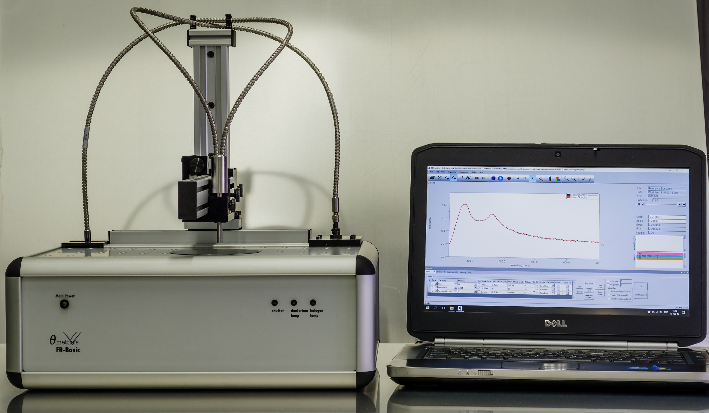 薄膜测厚仪FR-Basic UV/NIR-HR