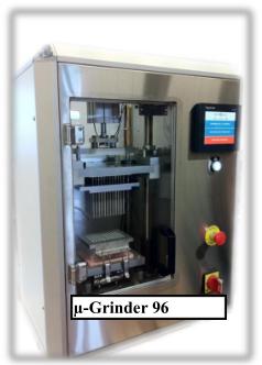 法国 Genomic高通量研磨机器人(自动取样) µ-Grinder µ-Sampler 96