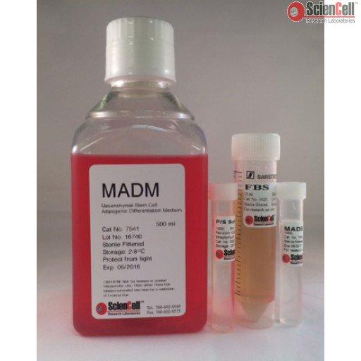 ScienCell 间充质干细胞脂肪细胞分化培养基 MADM(货号7541)