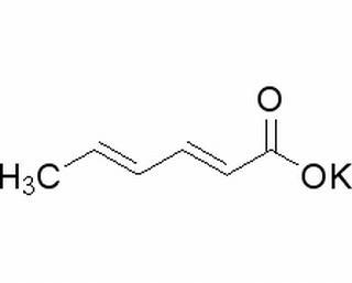 山梨酸钾(24634-61-5)分析标准品,HPLC≥98%