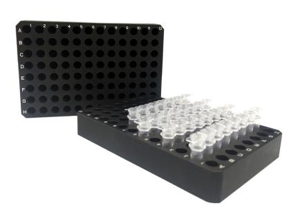 96孔铝合金模块(PCR板)
