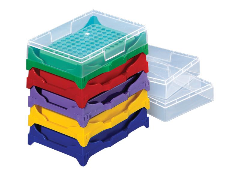 PCR 可叠放工作架 — 创新和改进!