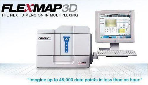 液相芯片分析平台Luminex FLEXMAP 3D系统