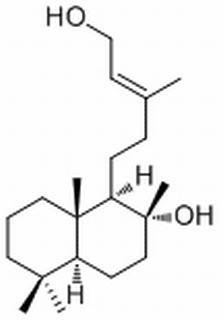 Labd-13-ene-8,15-diol(10267-31-9)分析标准品,HPLC≥98%