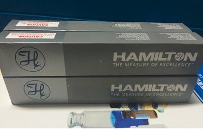 Hamilton 1ul可换针头气相手动进样针