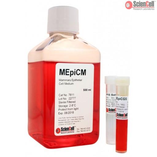 ScienCell 乳腺上皮细胞培养基 MEpiCM(货号7611)