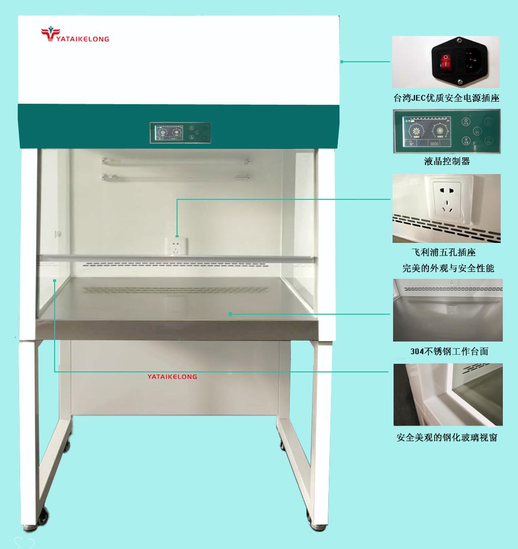 KLCZ系列智能超净工作台(带6°倾斜面)