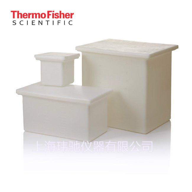 赛默飞世尔Thermo Fisher Scientific™  Nalgene™ 耐用型 LLDPE 带盖方形罐
