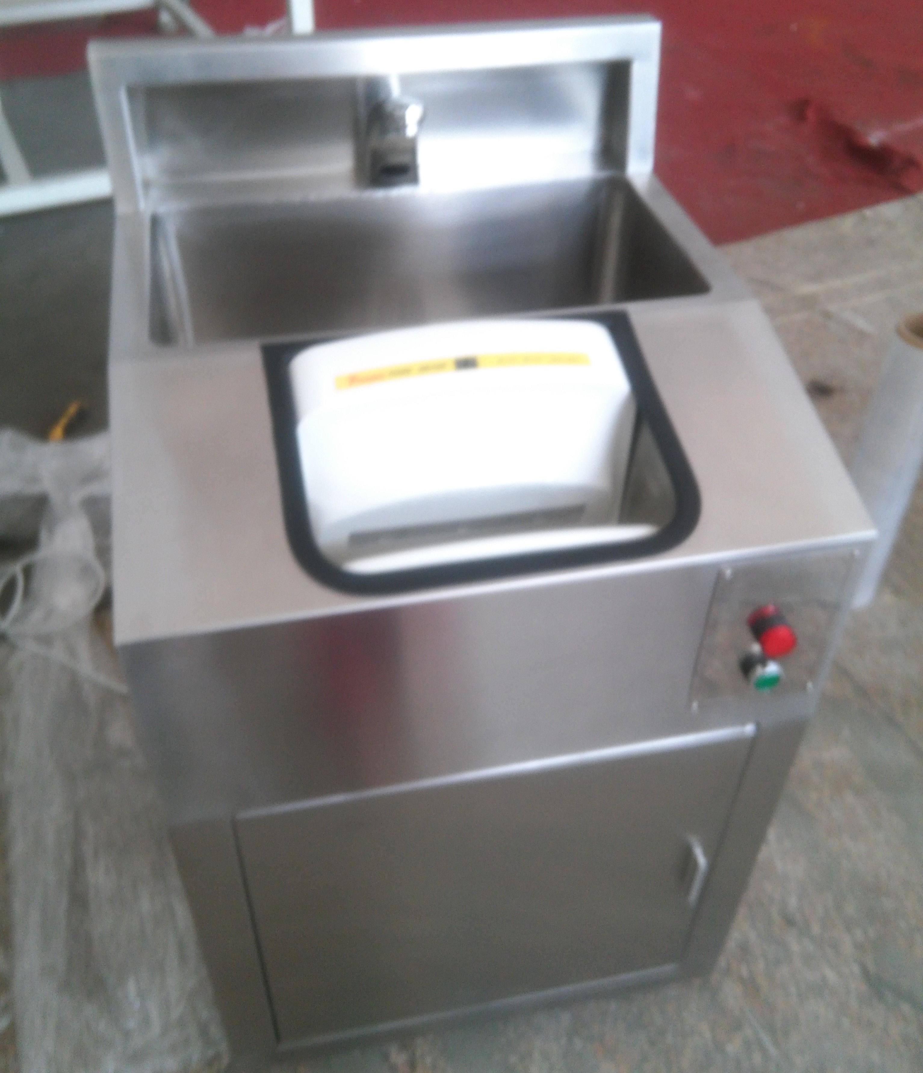 单人干手器消毒杀菌洗手烘干一体机