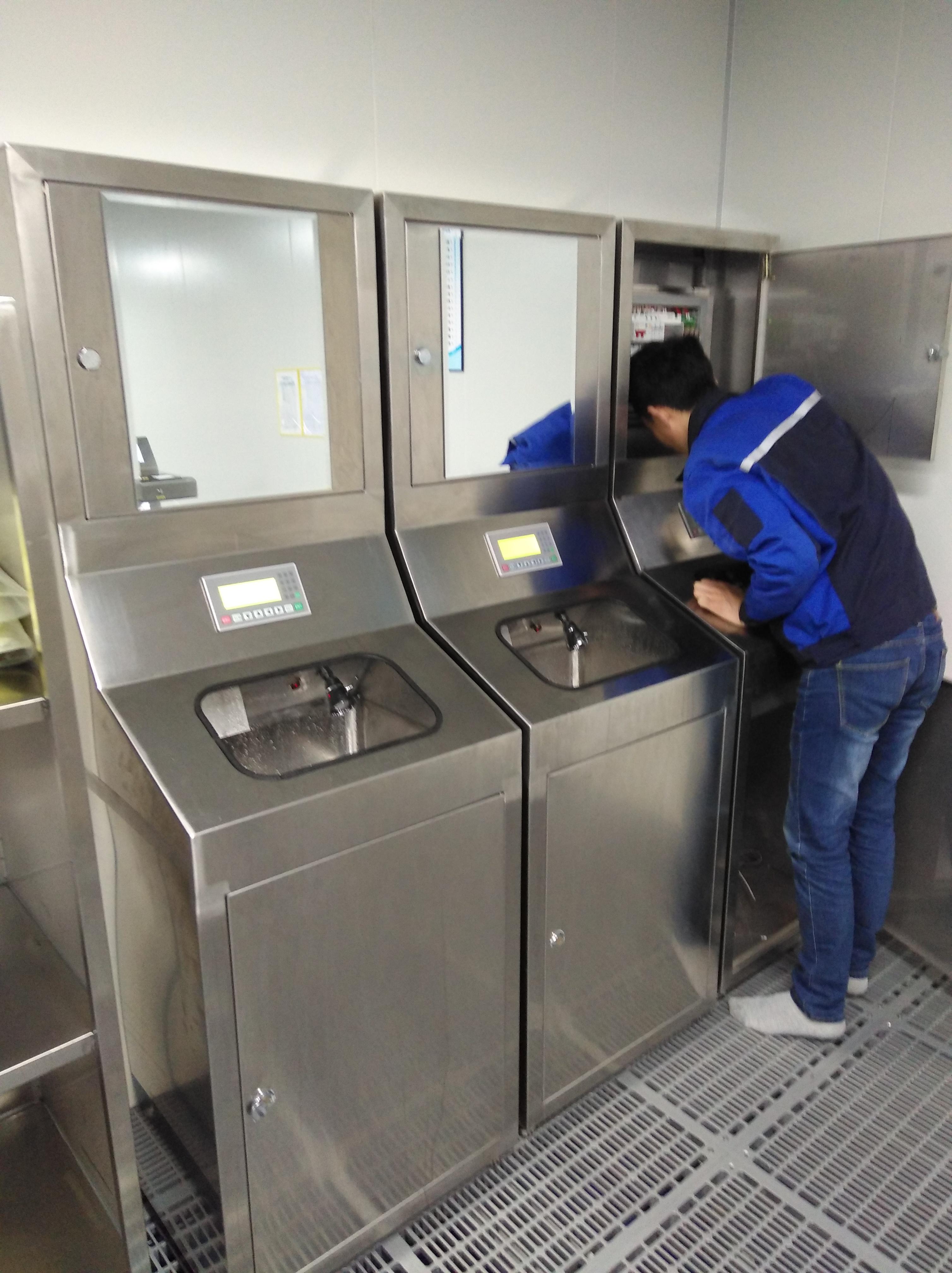 成都食品行业GMP无尘室专用洗手烘干机