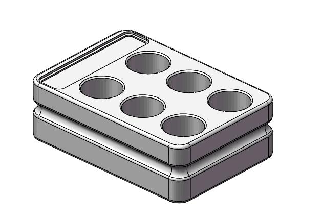 低温实验装置台式冷冻盒金属冰盒