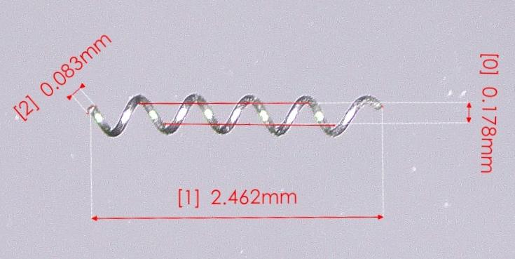 小鼠脑低灌注模型微型弹簧线圈/微型弹簧圈/显微弹簧/microcoil