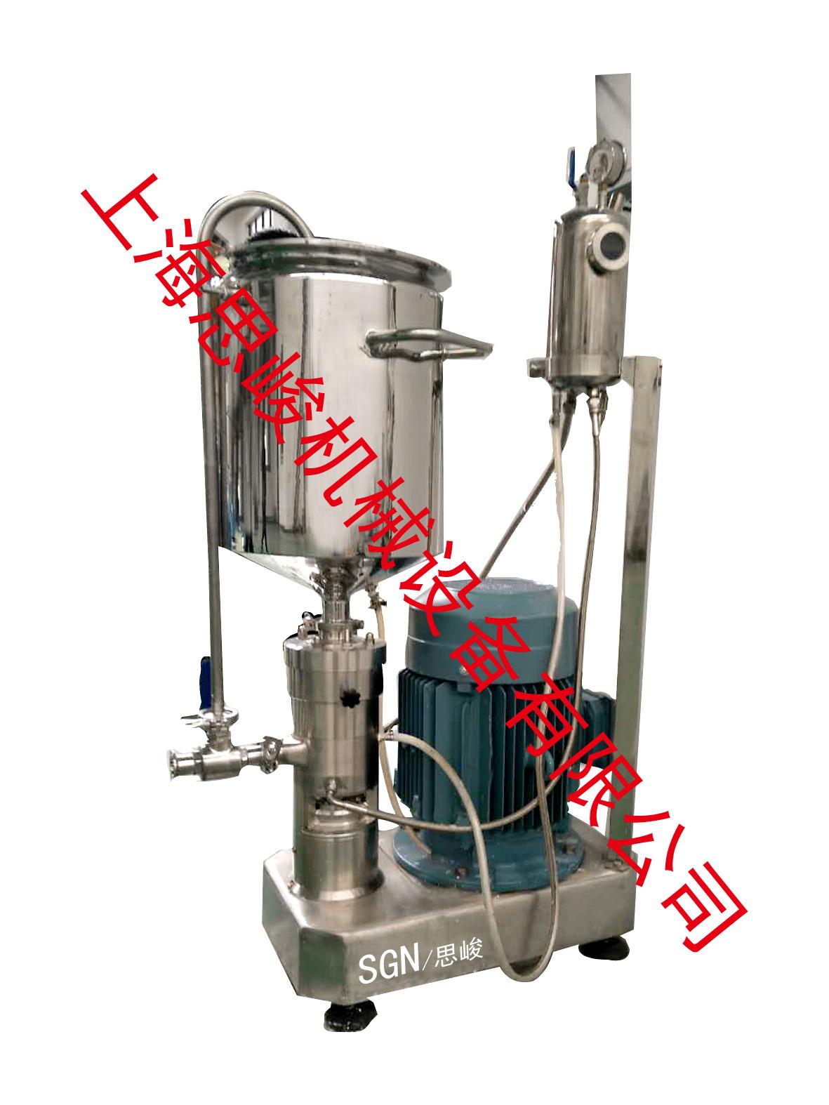 聚合物凝胶研磨分散机