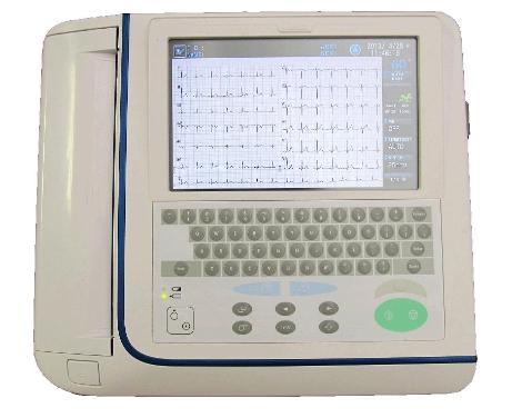 日本铃谦心电图分析仪Kenz Cardico 1215