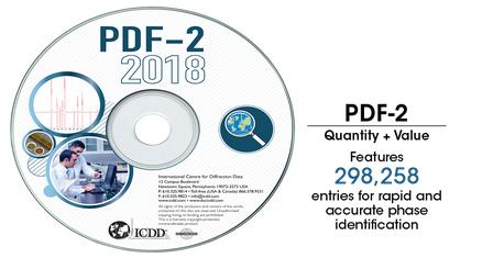 PDF-2 2018衍射数据库卡片