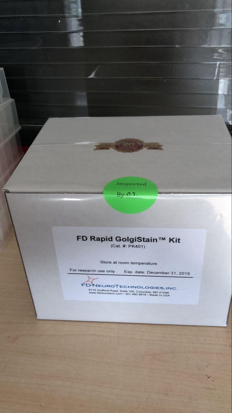 PK401 FD Rapid GolgiStain™ Kit 快速高尔基体染色试剂盒(授权代理)