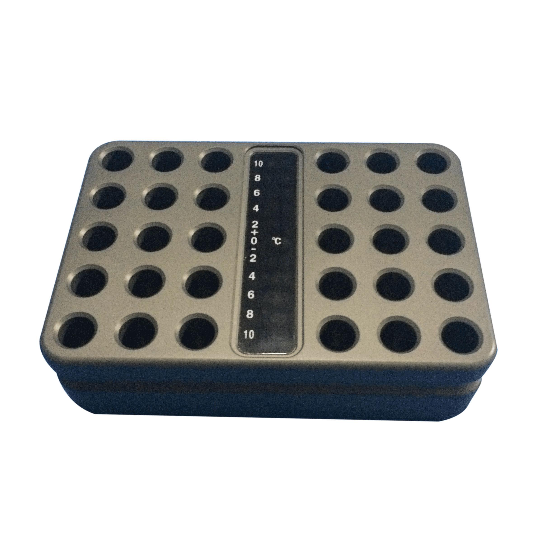 金属冰盒1.5ml离心管规格可定制