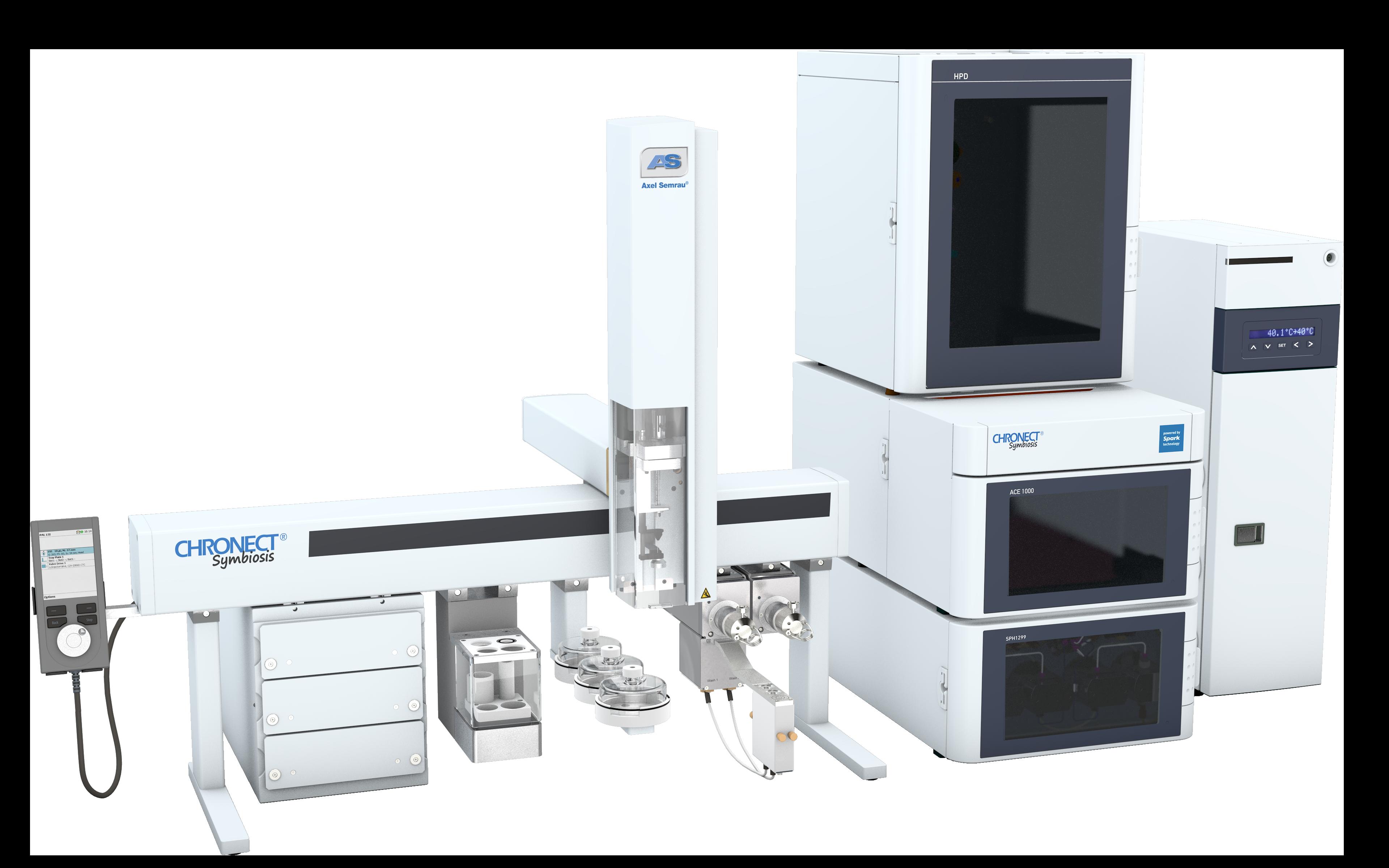 超高压液相-在线SPE色谱联用系统
