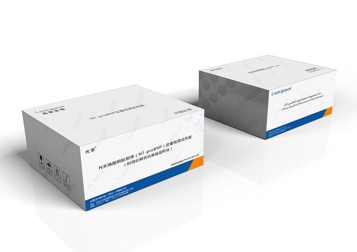 心肌肌钙蛋白I/心型脂肪酸结合蛋白(cTnI+H-FABP)检测试剂盒, 时间分辨荧光免疫层析法
