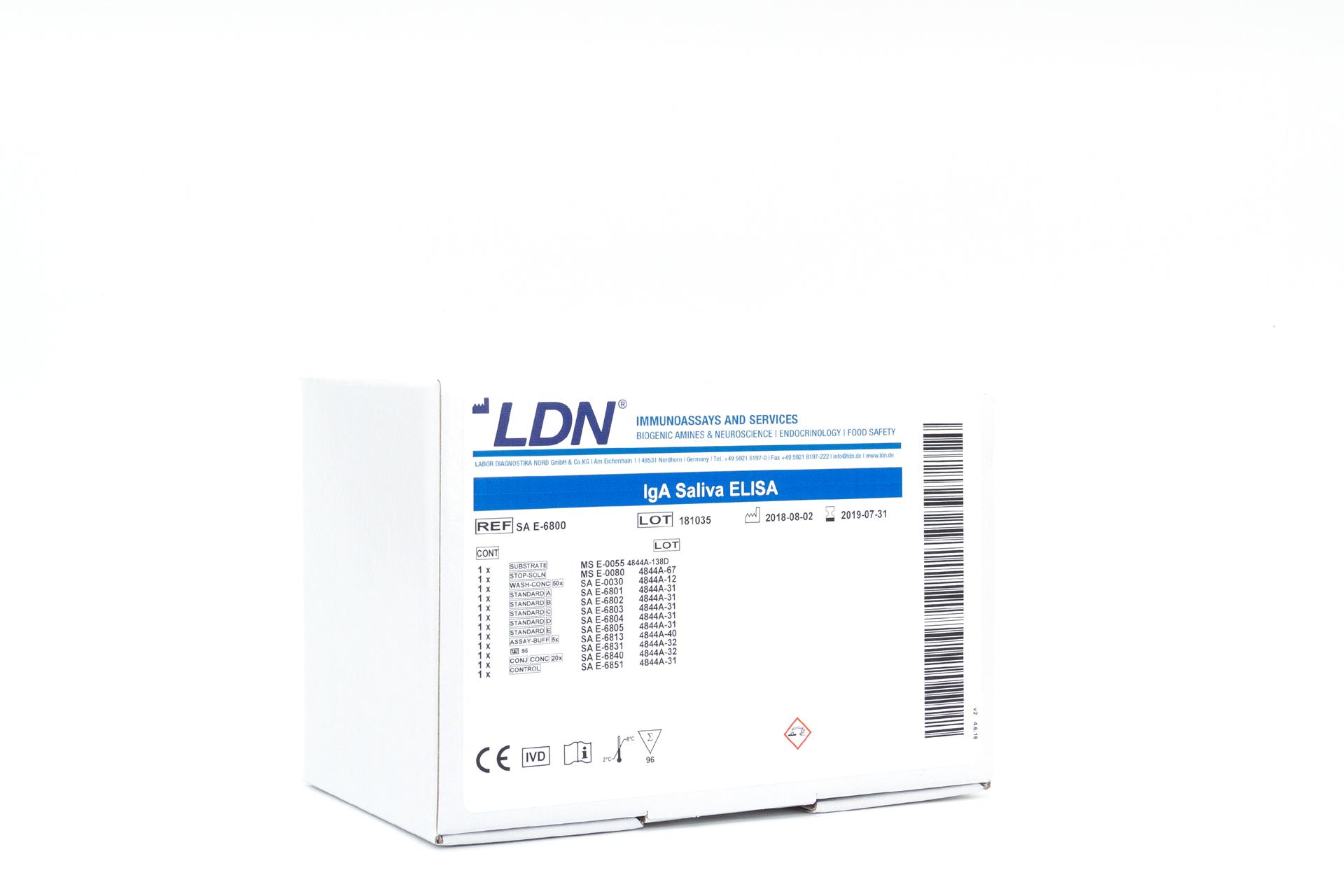 人唾液IgA检测试剂盒IgA Saliva ELISA