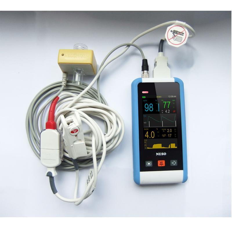 手持式监护仪呼吸末二氧化碳PMSH-300 PMSH-200 PMSH-100