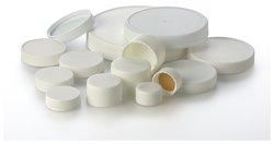 白色密封盖,聚四氟乙烯(PTFE)内衬,散装