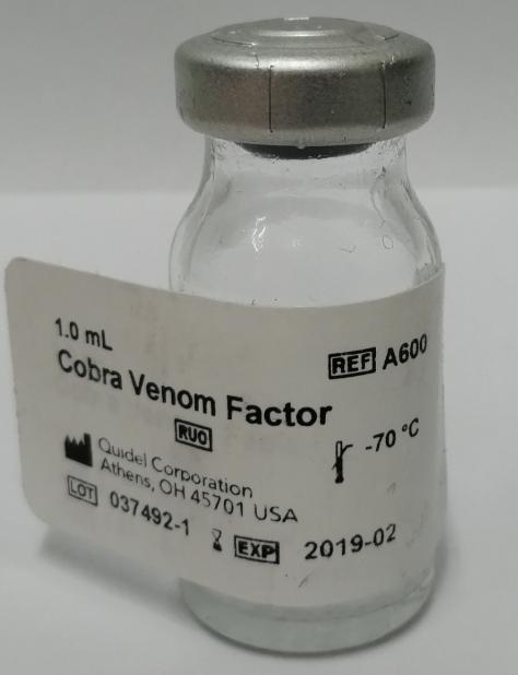 CVF, Cobra Venom Factor 眼镜蛇毒因子 A600