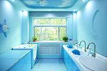婴儿洗澡游泳室