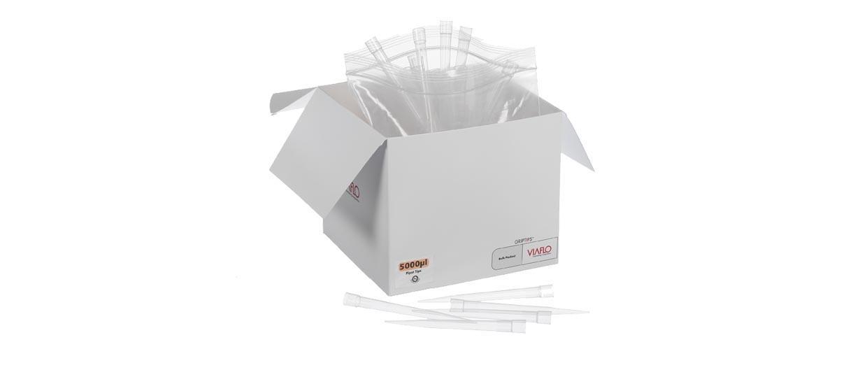 吸头5000 µL, 5 Racks of 48 Tips, Sterile, Filter  4455