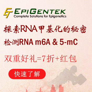 EpiQuik M6A RNA甲基化定量检测试剂盒 (比色法) (48 次)  | EpiQuikM6A RNAMethylation Quantification Kit (Colorimetric) (48 reactions)