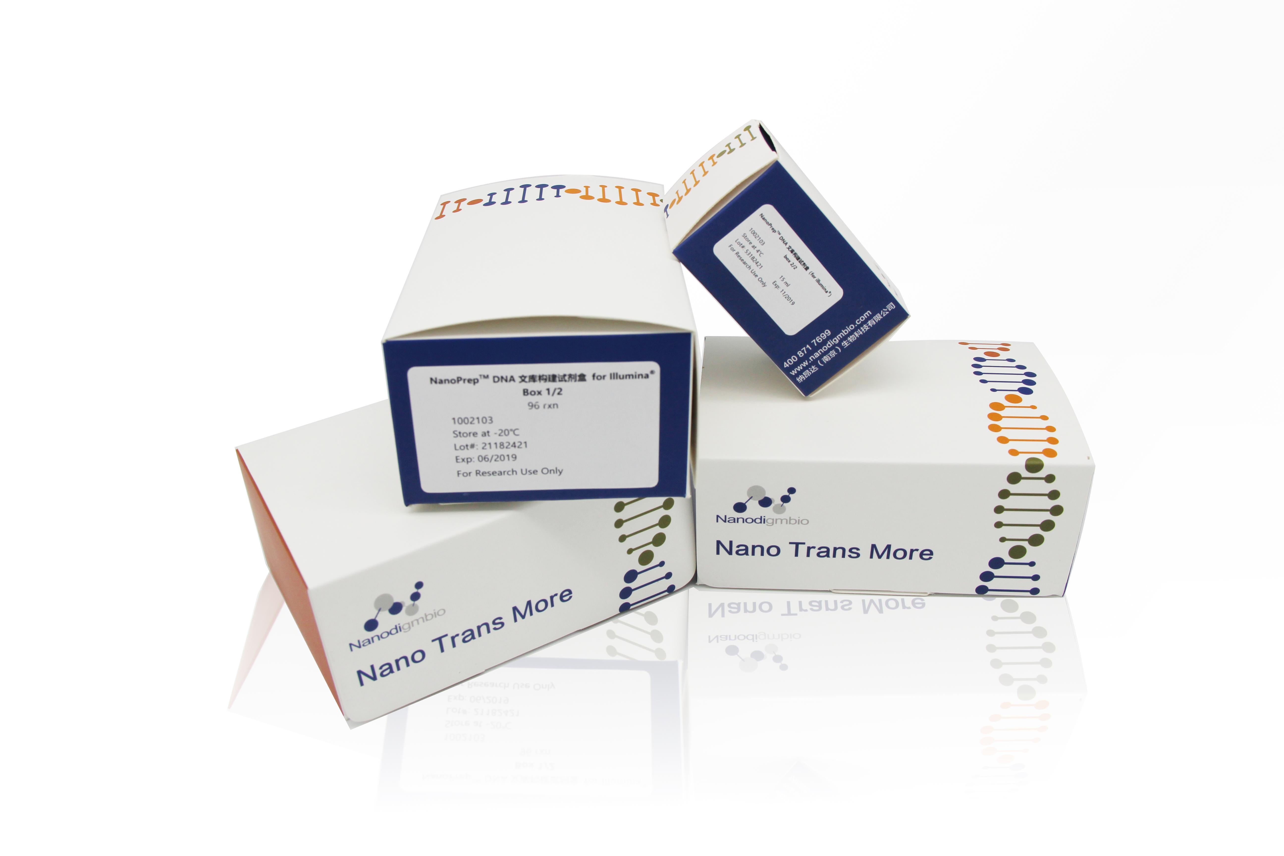 NanoPrep DNA文库构建试剂盒(for illumina®),24rxn