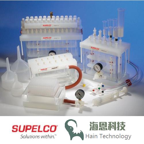 57044  Supelco  Visiprep SPE 真空固相萃取装置装置(12管)