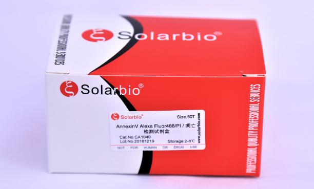 AnnexinV Alexa Fluor488/PI 凋亡检测试剂盒
