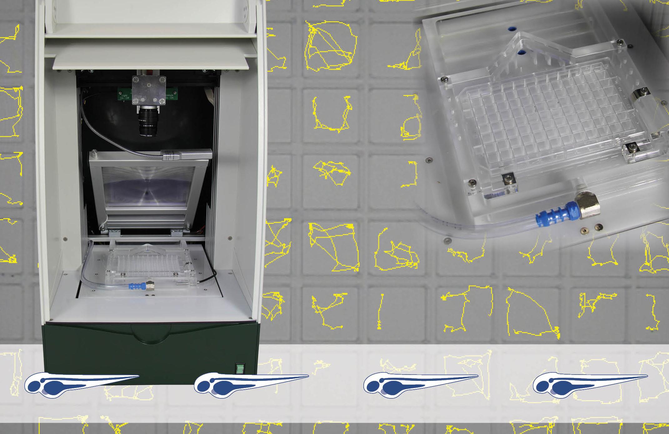DanioVision斑马鱼行为轨迹跟踪系统