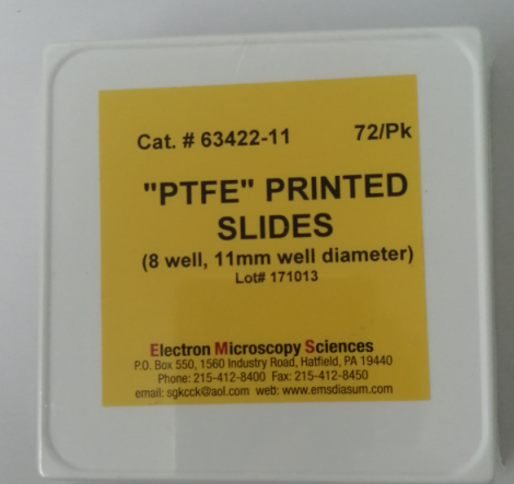 PTFE Printed Slides  63422-11  现货